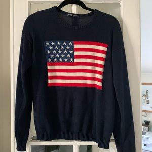 Brandy Melville American Flag Sweater